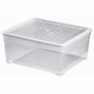 Aufbewahrungsbox Simply-Box L, transparent, 18,5 L