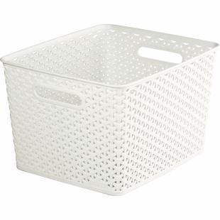 Aufbewahrungsbox My Style Korb L, creme, 18 L