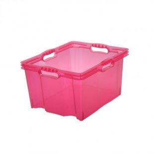 Multi-Box XL 24L, 43x35x23cm, fresh pink