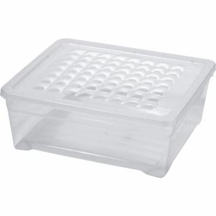Aufbewahrungsbox Simply-Box M, transparent, 10 L