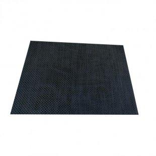 Platzdecke, 45x32 cm, dunkebraun-meliert