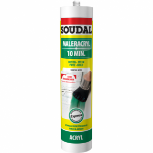 Soudal Maleracryl 10 Min 300 ml weiss