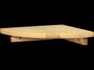 Eckregal 22x22cm