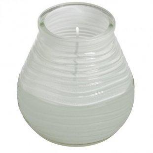 Glaswindlicht 9,4 cm, weiß