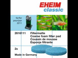 Filtermatte 2x für 2211 classic
