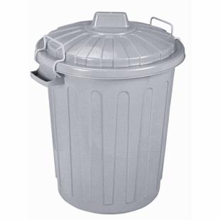 Mülleimer Oscar-Tonne M, grau, 23 L