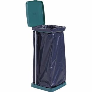 Müllsackhalter, mit Deckel