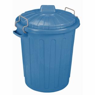 Mülleimer Oscar-Tonne M, blau, 23 L