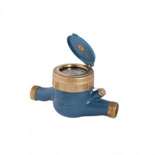 Hauswasserzähler Waagerecht für Kaltwasser, QN 2,5 190mm R 3/4´´