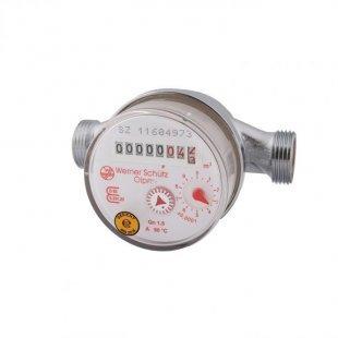 Wasserzähler für Warmwasser, Qn 1,5 110mm R 1/2´´