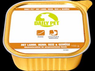 Nassfutter Lamm, Huhn & Reis, 150 g