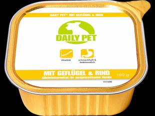 Nassfutter Geflügel & Rind, 150 g