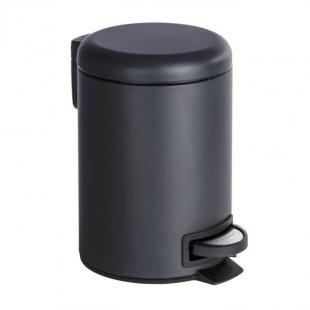 Kosmetik-Treteimer Leman, 3 L, schwarz