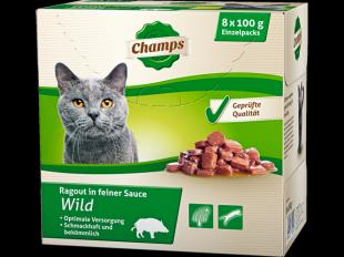 Katzenfutter Wild, 8x100 g