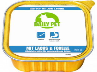Nassfutter Lachs & Forelle, 100 g