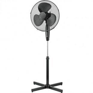 Standventilator 40 cm, schwarz