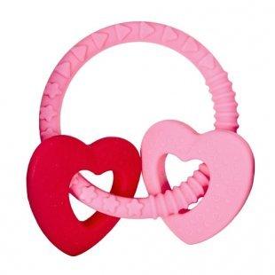 Coppenrath Verlag - Beißring BabyGlück Bär rosa