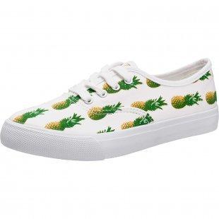 Even & Odd Sneakers grün-kombi Damen Gr. 42
