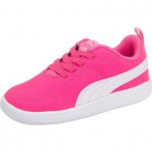 PUMA Baby Sneakers Courtflex pink Mädchen Gr. 25