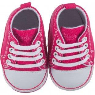 Playshoes Baby Krabbelschuhe pink Mädchen Gr. 19