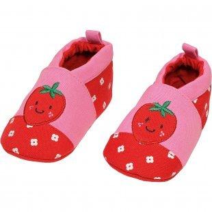 MaxiMo Krabbelschuhe für Mädchen pink Mädchen Gr. 20