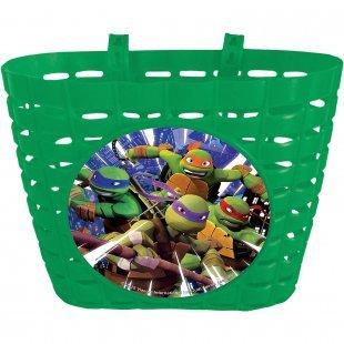 Teenage Mutant Ninja Turtles Fahrradkorb grün Junge