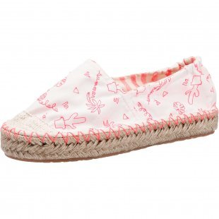 Even & Odd Slipper weiß Damen Gr. 40