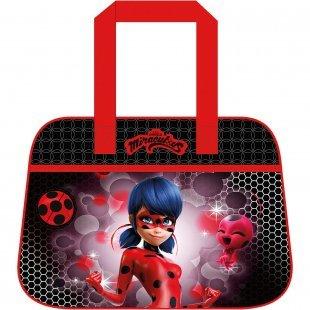 Sporttasche Miraculous - Ladybug schwarz/rot Mädchen