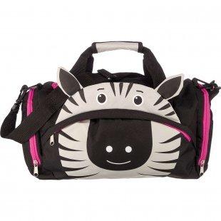 Sporttasche Zebra schwarz schwarz Junge