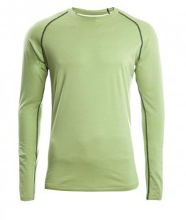 ENGEL SPORTS Shirt regular langarm Men lime S