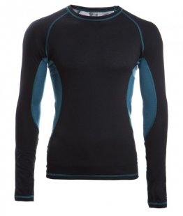 ENGEL SPORTS Shirt langarm Men black/hydro L