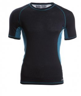 ENGEL SPORTS Shirt kurzarm Men black/hydro L