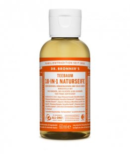 DR. BRONNER´S Liquid Soap Teebaum 60 ml