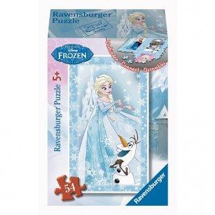 Ravensburger - Minipuzzle: Disney Die Eiskönigin, 54 Teile, sortiert