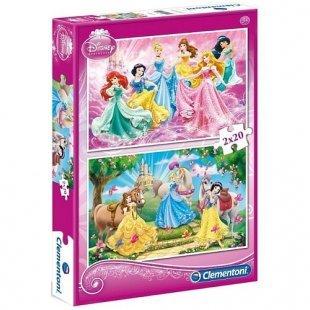 Clementoni - Puzzle: Disney Spezialkollektion, 2x20 Teile, sortiert