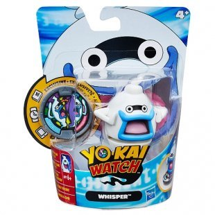 Yo-Kai Watch - Figur mit 1 Medaille, Whisper