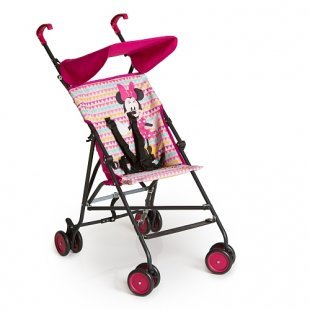 Hauck - Buggy Sun Plus, Minnie Geo pink