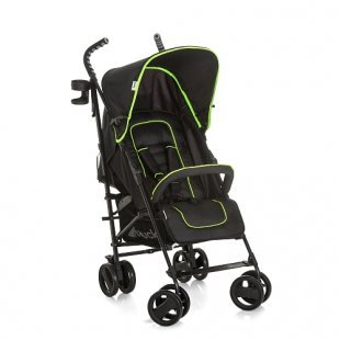 Hauck - Buggy Speed Plus S, Caviar/Neon Yellow
