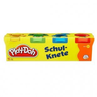 Play-Doh - Schulknete, 4 Mini Dosen