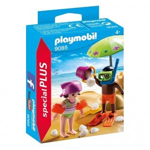 PLAYMOBIL - Kids mit Sandburg - 9085