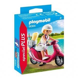 PLAYMOBIL - Strand-Girl mit Roller - 9084