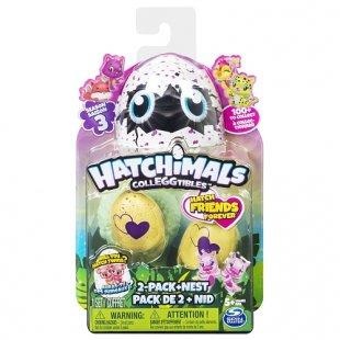 Hatchimals - CollEGGtibles: 2er Pack und Nest Serie 3, sortiert