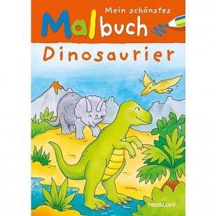 Mein schönstes Malbuch: Dinosaurier
