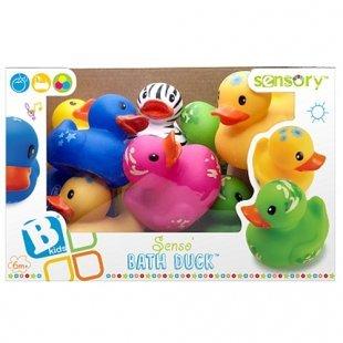 Infantino BKids - Badewannenspielzeug Ente, sortiert