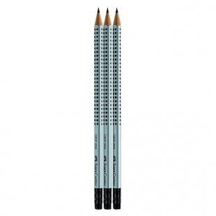 Faber Castell - Bleistifte GRIP 2001 mit G-Tip HB, 3-tlg.