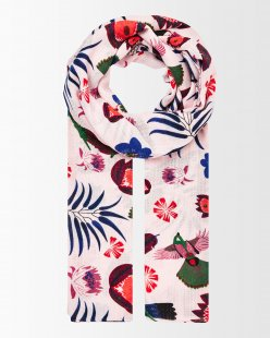 Schal mit Tropical-Print