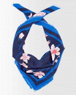 Kleines Halstuch mit Blumenprint