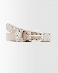 Leder-Nietengürtel im Vintage-Look