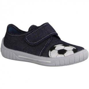 Superfit Sneaker Bill 00273-87- Haus - hÜttenschuhe Kinder Hausschuhe, Blau