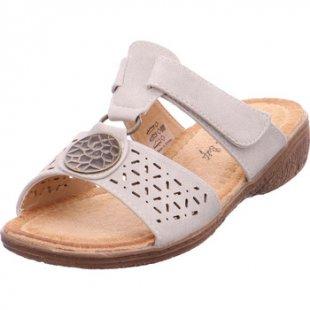 Hengst Clogs Ladies Comfort Shoes Li-Grey